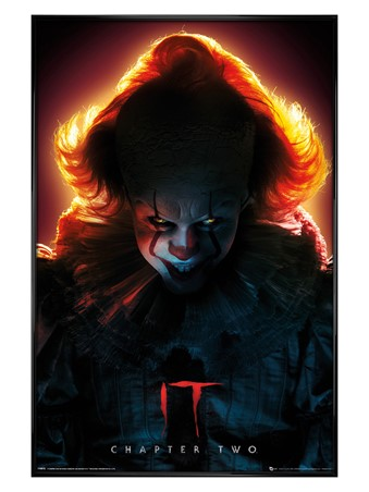 Gloss Black Framed Pennywise - IT Chapter 2
