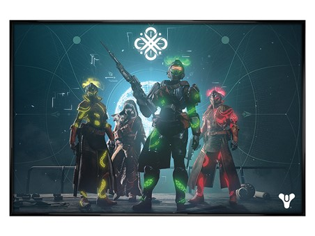 Gloss Black Framed Gambit - Destiny