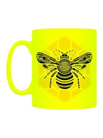 Neon Nectar - Graphic Bee