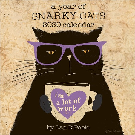 Year of Snarky Cats -