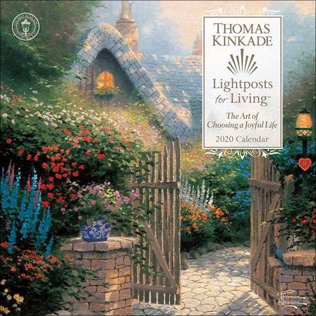 Lightposts for Living - Thomas Kinkade