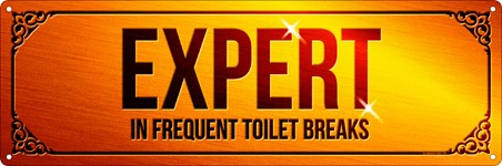 Expert In Frequent Toilet Breaks - Loo Lover