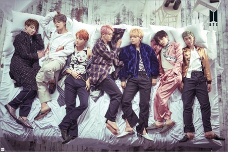 Group Bed - BTS K-Pop