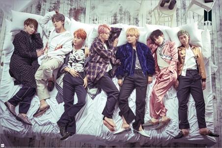 Group Bed, BTS K-Pop