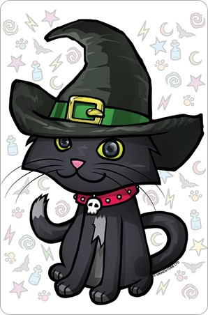 Witches Kitten - Halloween