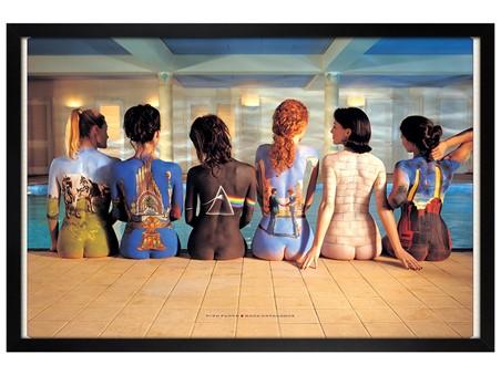 Black Wooden Framed Back Catalogue Campaign - Pink Floyd