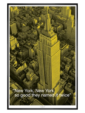 Gloss Black Framed So good they named it twice!, New York