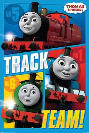 Track Team - Thomas & Friends