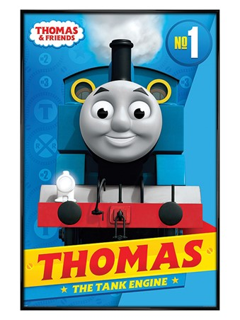 Gloss Black Framed Thomas the Tank Engine - Thomas & Friends