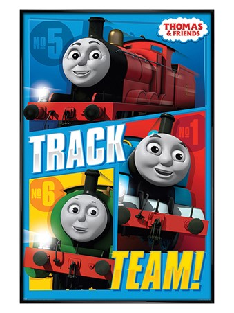 Gloss Black Framed Track Team - Thomas & Friends