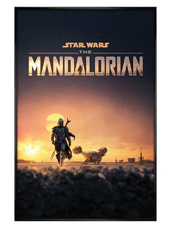 Gloss Black Framed Dusk - Star Wars: The Mandalorian