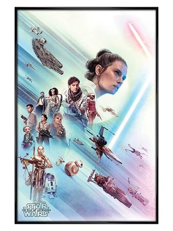 Gloss Black Framed Rey - Star Wars: The Rise of Skywalker