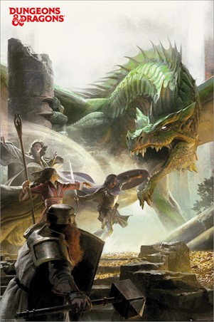 An Epic Adventure - Dungeons & Dragons