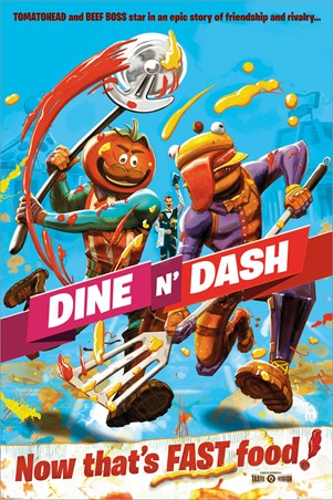 Dine N Dash - Fortnite