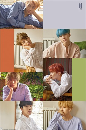Group Collage - BTS K-Pop