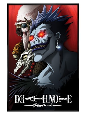 Gloss Black Framed Shinigami - Death Note