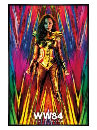 Gloss Black Framed Teaser - Wonder Woman 1984