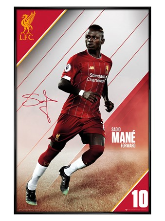 Gloss Black Framed Mane 19-20, Liverpool