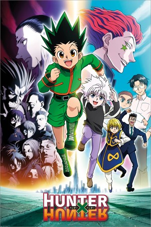 Keyart Running, Hunter x Hunter