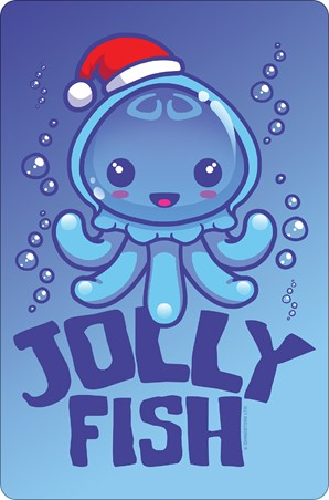 Jolly Fish Christmas - Christmas Jellyfish