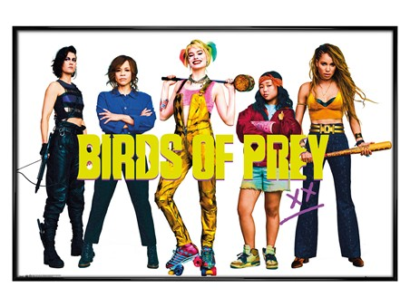 Gloss Black Framed Girl Gang - Birds of Prey