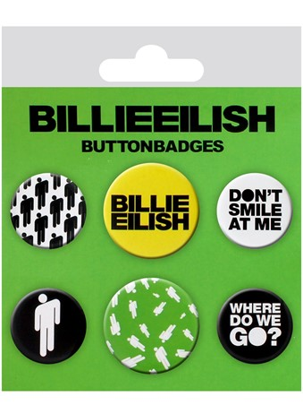 Stickman Badge Pack, Billie Eilish