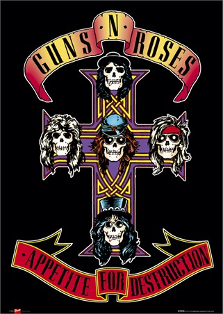 Appetite for Destruction, Guns N Roses