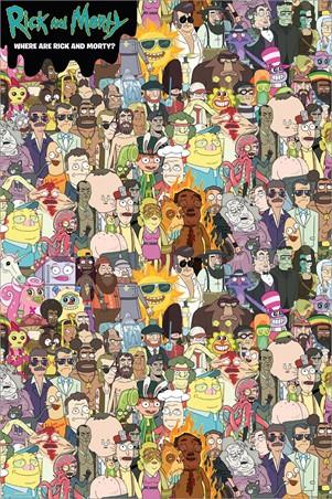 Where's Rick, Rick & Morty