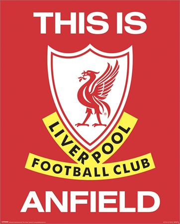 This is Anfield, Liverpool Football Club Badge