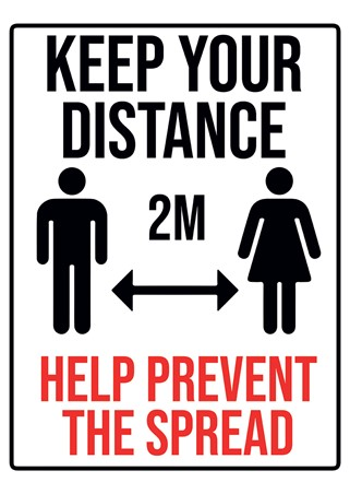 Keep Your Distance - Workplace