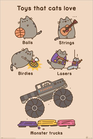 Toys for Cats, Pusheen