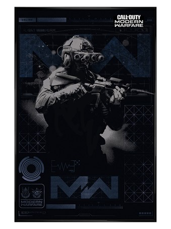 Gloss Black Framed Elite - Call of Duty: Modern Warfare