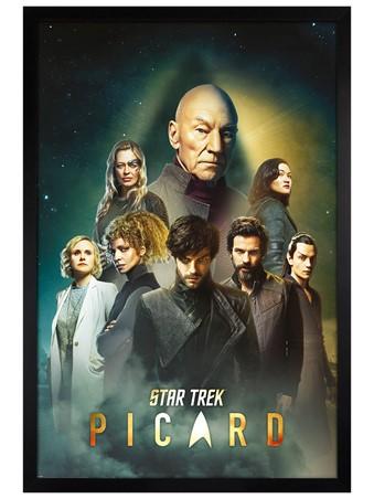 Black Wooden Framed Reunion - Star Trek Picard