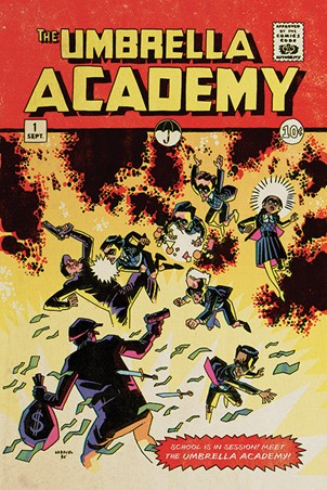School is in Session, The Umbrella Academy