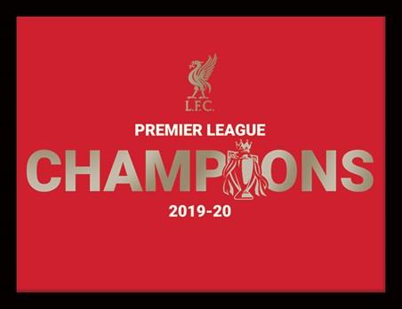 Champions 19/20 Memorabilia, Liverpool FC