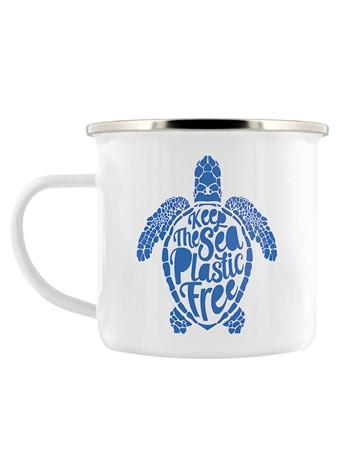 Keep The Sea Plastic Free, Eco Turtle