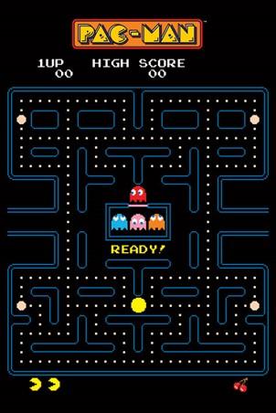 Maze, Pac-Man