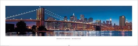 Brooklyn Bridge Lights - New York, USA