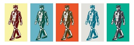 Pop Art Style Cybermen - Doctor Who