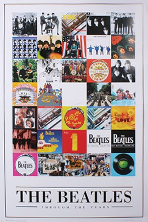 Album Cover Montage - The Beatles