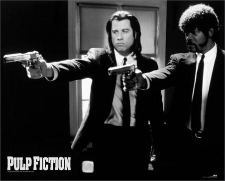 Vincent and Jules - Pulp Fiction