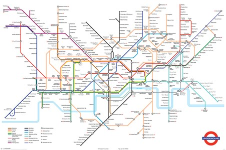 London Underground Map, London Underground