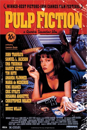 Movie One Sheet, Pulp Fiction