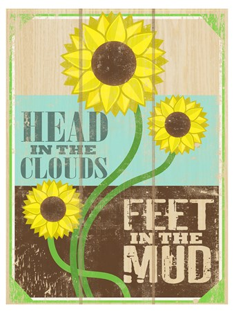Head In The Clouds - Feet In The Mud