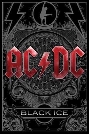 Framed Black Ice - AC/DC