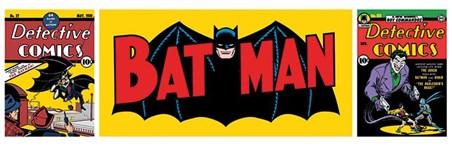 Framed Batman Triptych - DC Comics