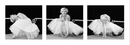 Ballerina Triptych - Marilyn Monroe
