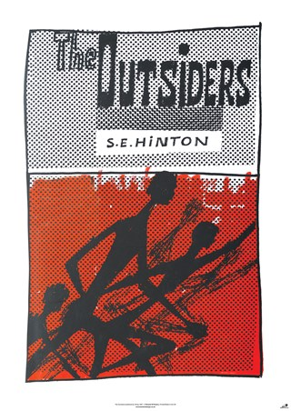 Framed The Outsiders - S E Hinton