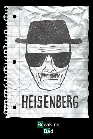 Heisenberg Wanted Poster - Breaking Bad