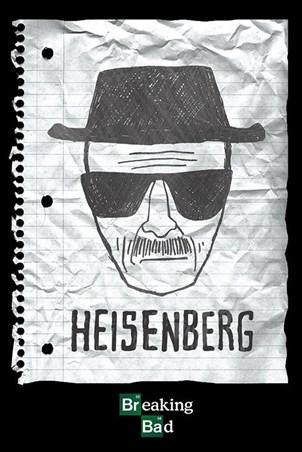 Heisenberg Wanted Poster - Breaking Bad